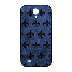 Royal1 Black Marble & Blue Stone Samsung Galaxy S4 I9500/i9505  Hardshell Back Case by trendistuff