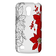 Poinsettia Flower Coloring Page Galaxy S4 Mini by Simbadda