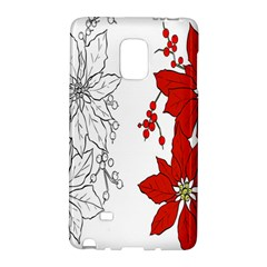 Poinsettia Flower Coloring Page Galaxy Note Edge by Simbadda