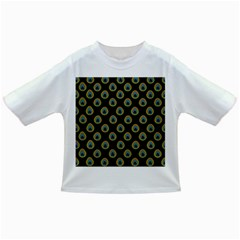 Peacock Inspired Background Infant/toddler T Shirts by Simbadda