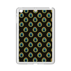 Peacock Inspired Background Ipad Mini 2 Enamel Coated Cases by Simbadda