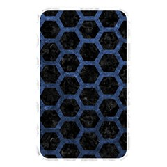 Hexagon2 Black Marble & Blue Stone Memory Card Reader (rectangular) by trendistuff