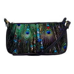 Peacock Jewelery Shoulder Clutch Bags by Simbadda