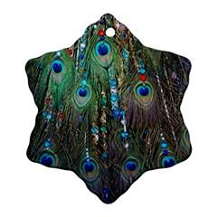 Peacock Jewelery Ornament (snowflake) by Simbadda