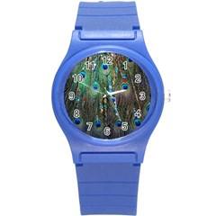 Peacock Jewelery Round Plastic Sport Watch (s) by Simbadda