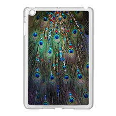 Peacock Jewelery Apple Ipad Mini Case (white) by Simbadda