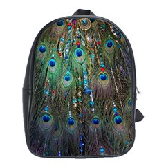 Peacock Jewelery School Bags (XL)  by Simbadda
