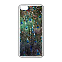 Peacock Jewelery Apple Iphone 5c Seamless Case (white) by Simbadda