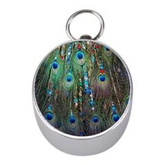 Peacock Jewelery Mini Silver Compasses by Simbadda