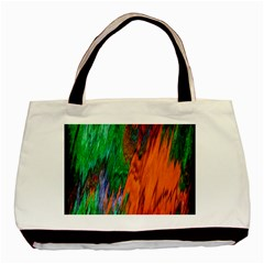 Watercolor Grunge Background Basic Tote Bag by Simbadda