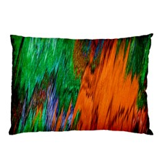 Watercolor Grunge Background Pillow Case by Simbadda