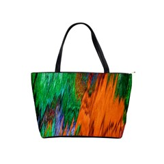 Watercolor Grunge Background Shoulder Handbags by Simbadda