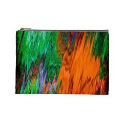 Watercolor Grunge Background Cosmetic Bag (large)  by Simbadda