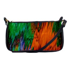 Watercolor Grunge Background Shoulder Clutch Bags by Simbadda