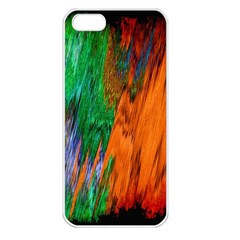 Watercolor Grunge Background Apple Iphone 5 Seamless Case (white) by Simbadda
