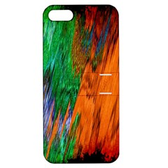 Watercolor Grunge Background Apple Iphone 5 Hardshell Case With Stand by Simbadda