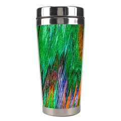 Watercolor Grunge Background Stainless Steel Travel Tumblers by Simbadda