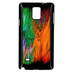 Watercolor Grunge Background Samsung Galaxy Note 4 Case (black) by Simbadda