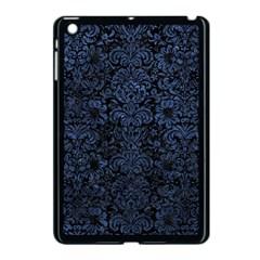 Damask2 Black Marble & Blue Stone Apple Ipad Mini Case (black)