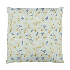 Vintage Hand Drawn Floral Background Standard Cushion Case (two Sides) by TastefulDesigns