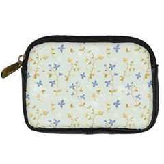 Vintage Hand Drawn Floral Background Digital Camera Cases by TastefulDesigns