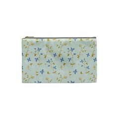 Vintage Hand Drawn Floral Background Cosmetic Bag (small)  by TastefulDesigns