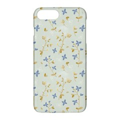Vintage Hand Drawn Floral Background Apple Iphone 7 Plus Hardshell Case by TastefulDesigns