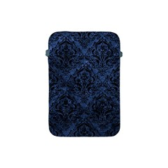 Damask1 Black Marble & Blue Stone (r) Apple Ipad Mini Protective Soft Case by trendistuff