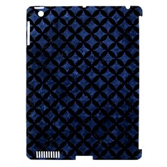 Circles3 Black Marble & Blue Stone (r) Apple Ipad 3/4 Hardshell Case (compatible With Smart Cover) by trendistuff