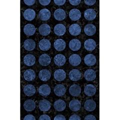 Circles1 Black Marble & Blue Stone 5 5  X 8 5  Notebook by trendistuff