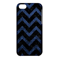 Chevron9 Black Marble & Blue Stone Apple Iphone 5c Hardshell Case by trendistuff