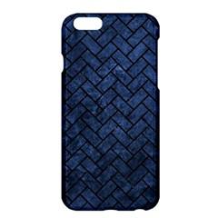 Brick2 Black Marble & Blue Stone (r) Apple Iphone 6 Plus/6s Plus Hardshell Case by trendistuff
