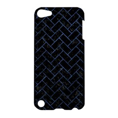 Brick2 Black Marble & Blue Stone Apple Ipod Touch 5 Hardshell Case by trendistuff