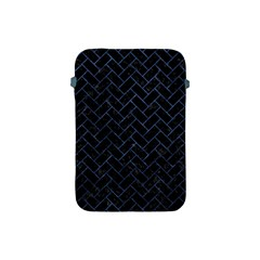 Brick2 Black Marble & Blue Stone Apple Ipad Mini Protective Soft Case by trendistuff