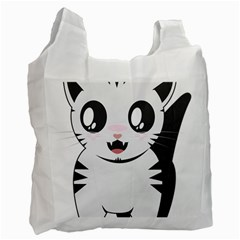 Meow Recycle Bag (one Side) by evpoe