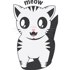 Meow 5 5  X 8 5  Notebooks by evpoe