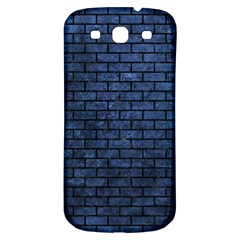 Brick1 Black Marble & Blue Stone (r) Samsung Galaxy S3 S Iii Classic Hardshell Back Case by trendistuff