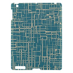 Hand Drawn Lines Background In Vintage Style Apple Ipad 3/4 Hardshell Case by TastefulDesigns