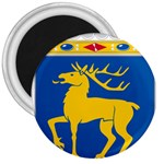 Coat of Arms of Aland 3  Magnets Front