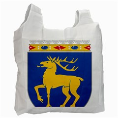 Coat Of Arms Of Aland Recycle Bag (one Side) by abbeyz71