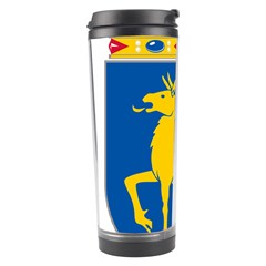 Coat Of Arms Of Aland Travel Tumbler by abbeyz71