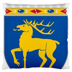 Coat Of Arms Of Aland Large Flano Cushion Case (two Sides) by abbeyz71