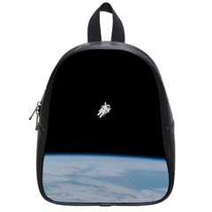 Amazing Stunning Astronaut Amazed School Bags (small)  by Simbadda