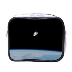 Amazing Stunning Astronaut Amazed Mini Toiletries Bags