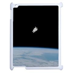 Amazing Stunning Astronaut Amazed Apple Ipad 2 Case (white) by Simbadda