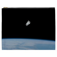 Amazing Stunning Astronaut Amazed Cosmetic Bag (xxxl)  by Simbadda