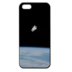Amazing Stunning Astronaut Amazed Apple Iphone 5 Seamless Case (black) by Simbadda
