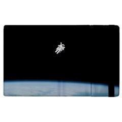 Amazing Stunning Astronaut Amazed Apple Ipad 2 Flip Case by Simbadda