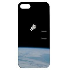 Amazing Stunning Astronaut Amazed Apple Iphone 5 Hardshell Case With Stand by Simbadda