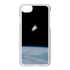 Amazing Stunning Astronaut Amazed Apple Iphone 7 Seamless Case (white) by Simbadda